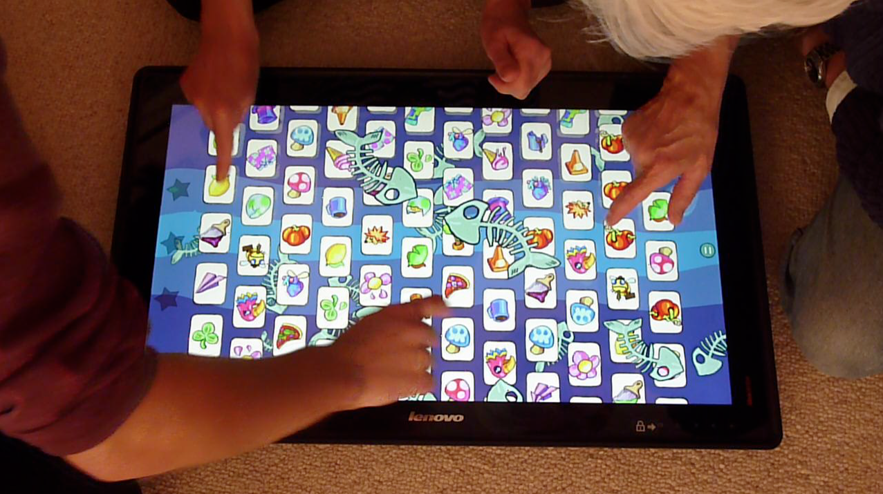 tap happy sabotage a party game for big big touchscreens